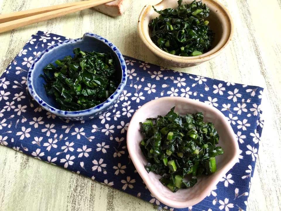 Japanese Kale Kobachi
