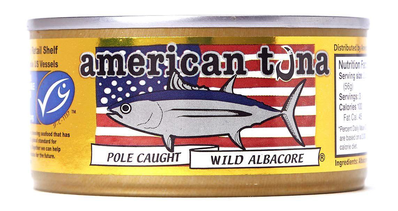 American Tuna No Salt Added Wild Albacore Tuna