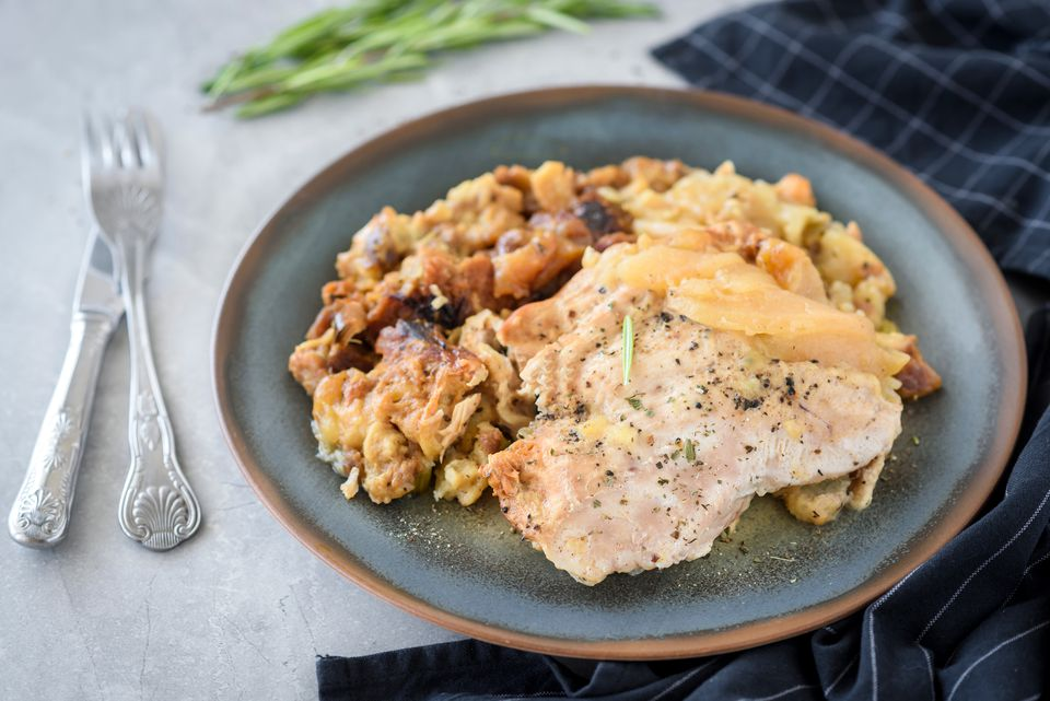 Crockpot turkey cutlet recipe with stuffing