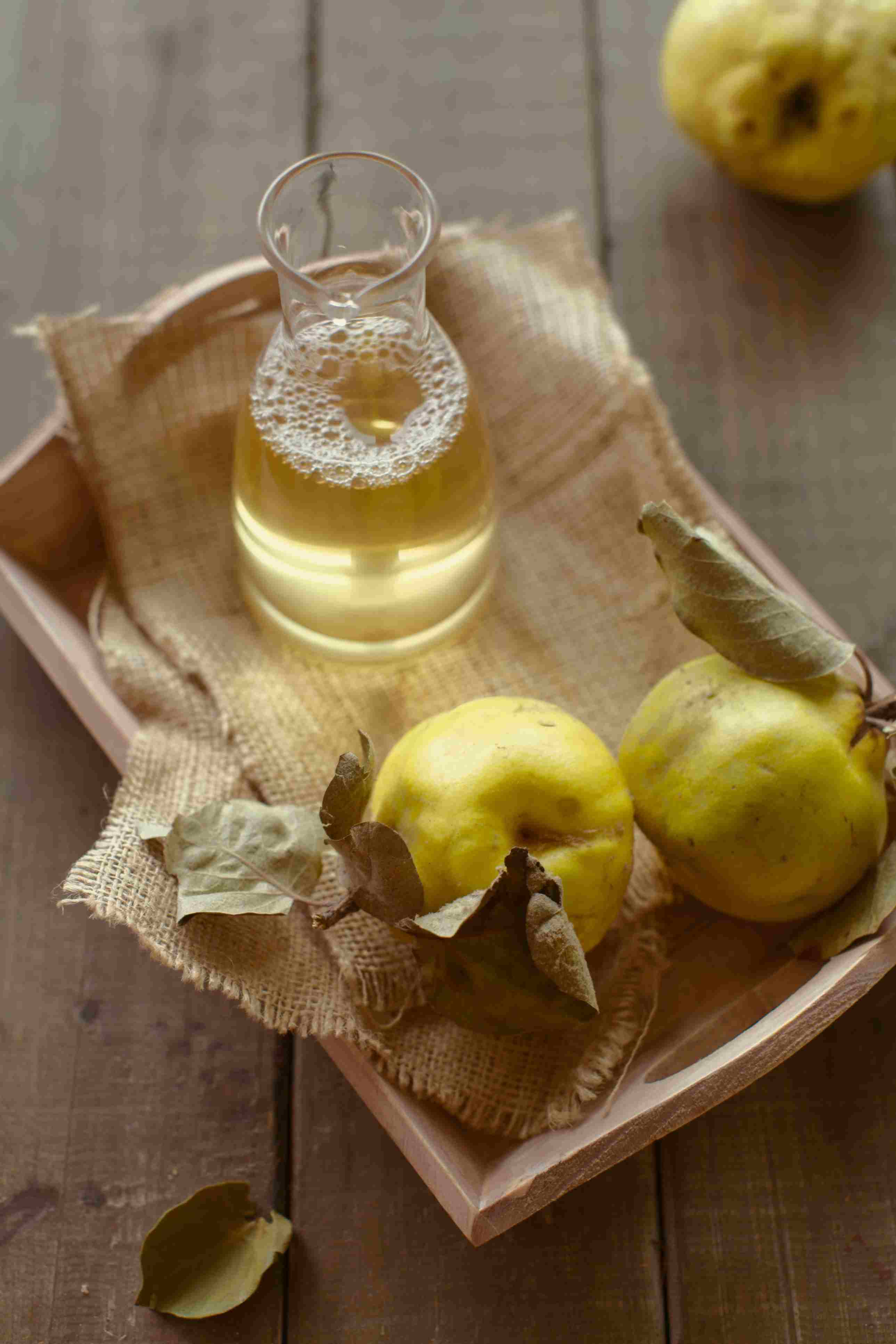 Delicious Quince Juice Recipe and an Important Point!