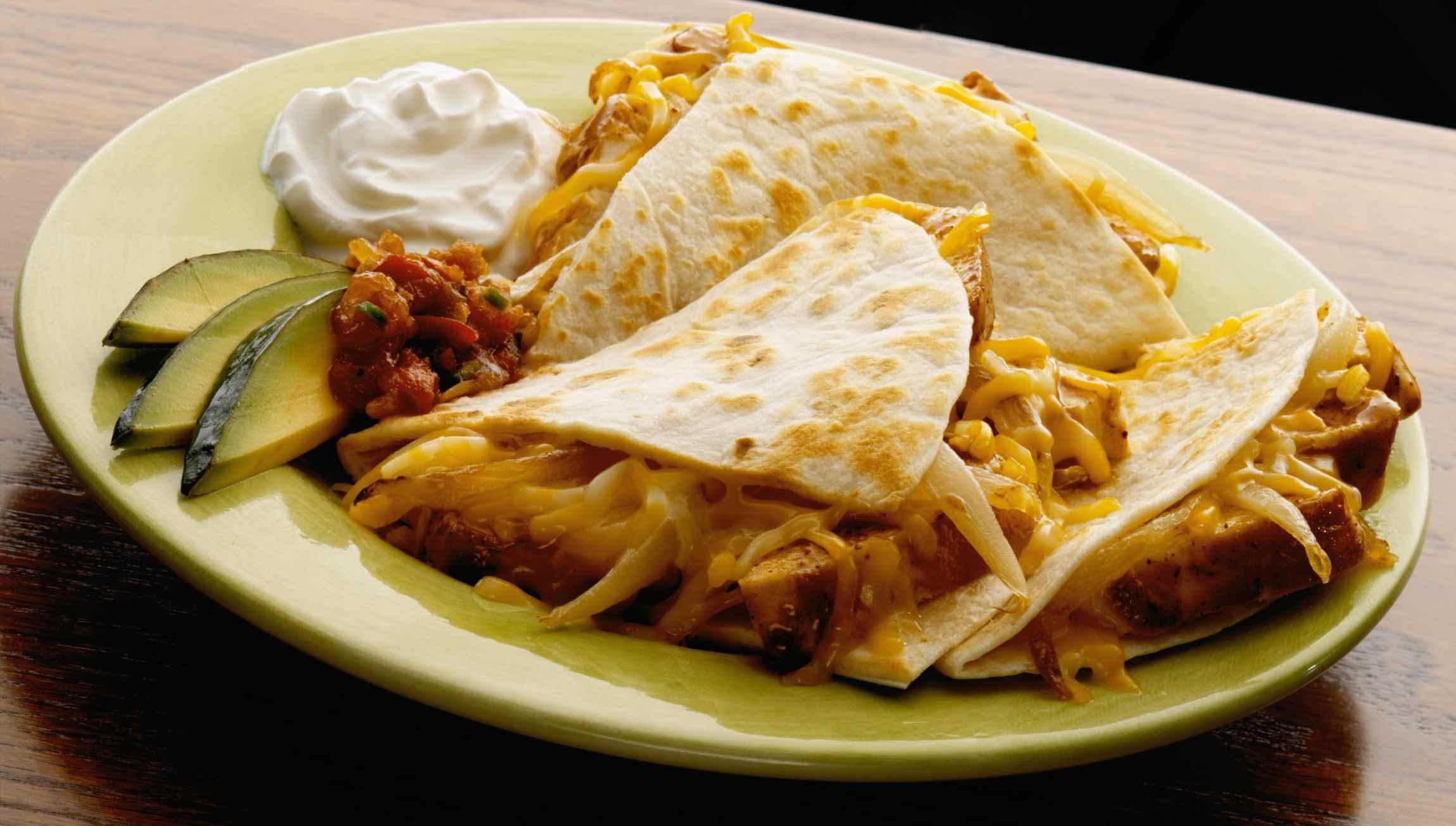 Quick Dinner Quesadillas