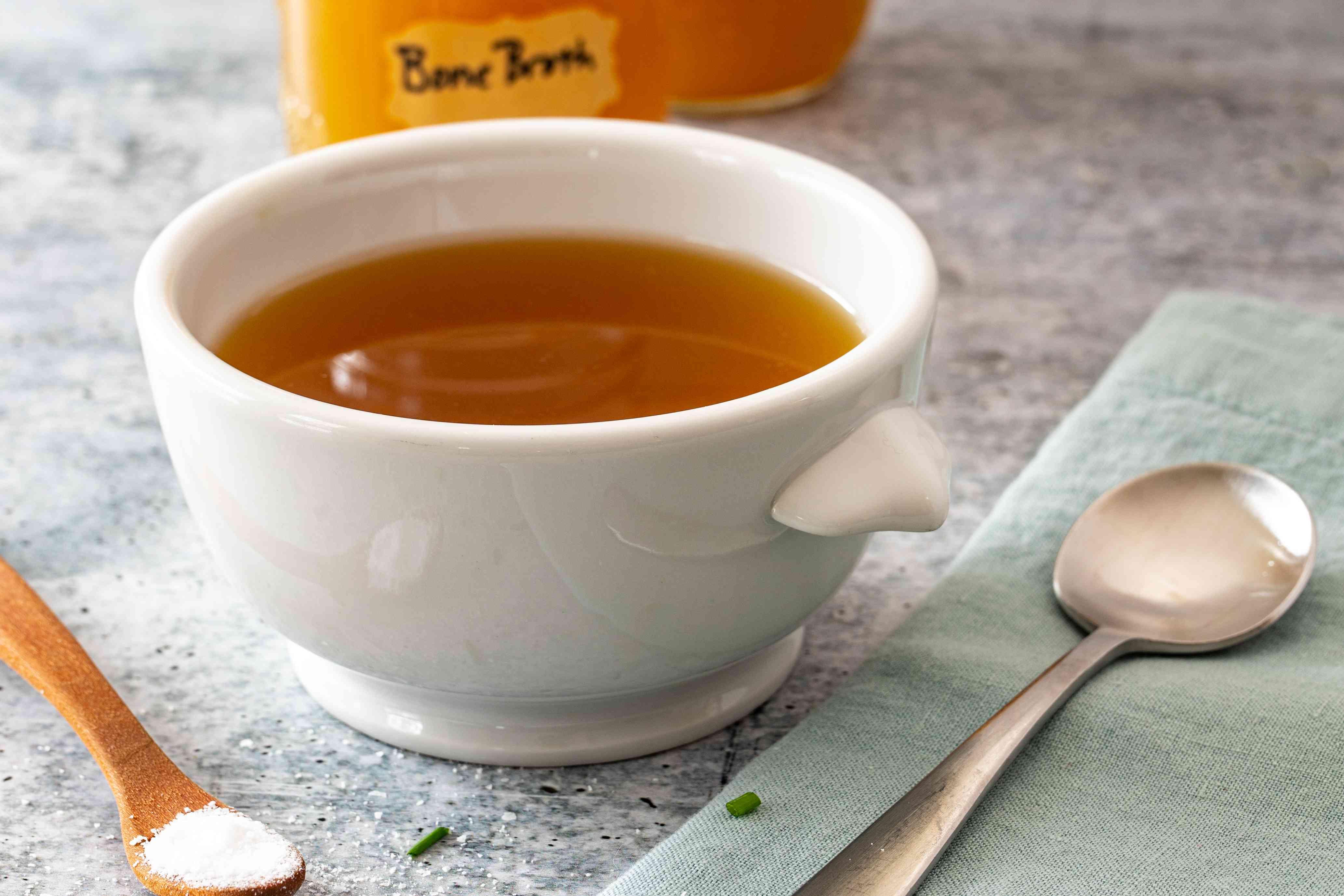 bowl of bone broth