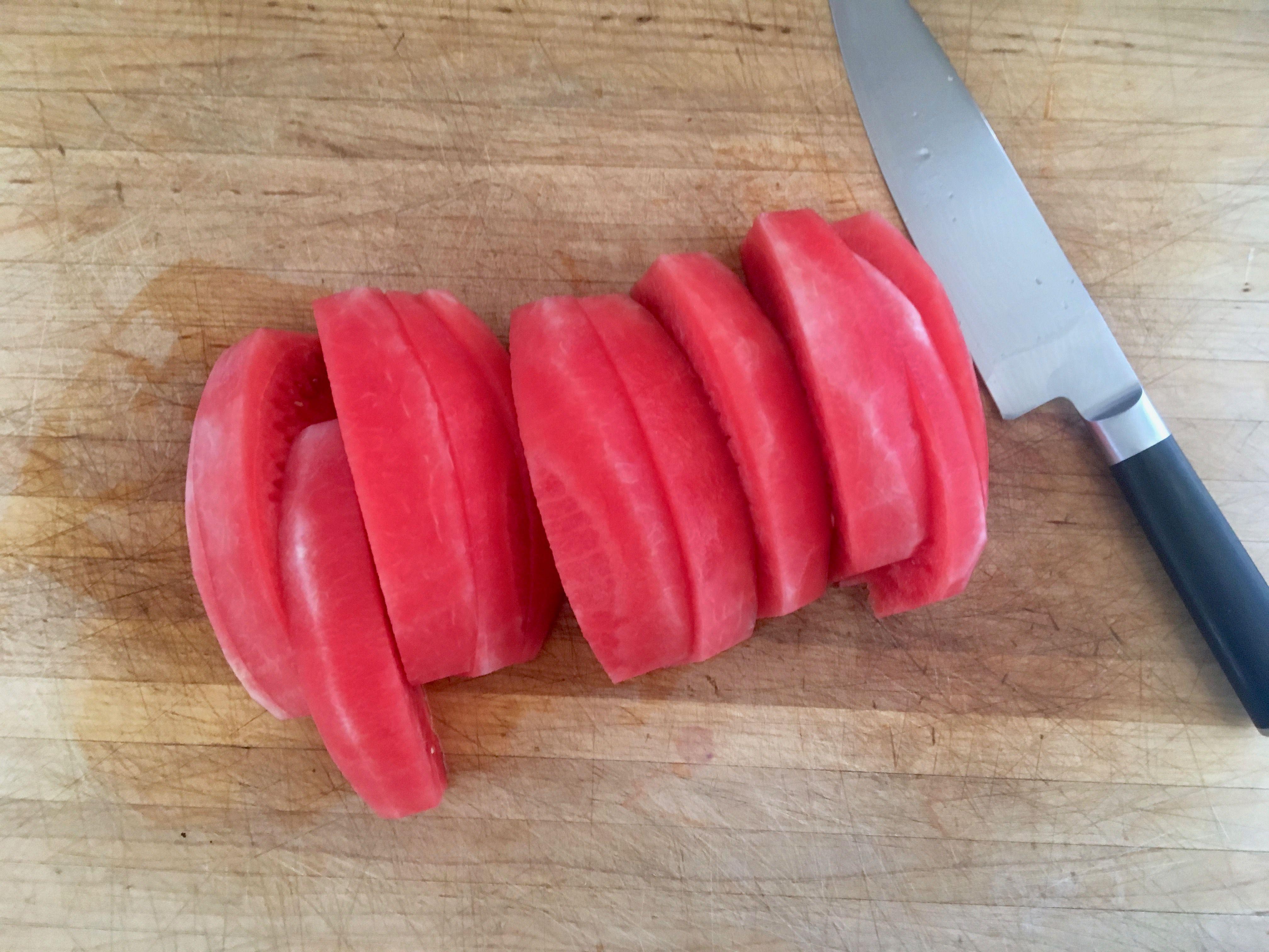 Peeled Melon