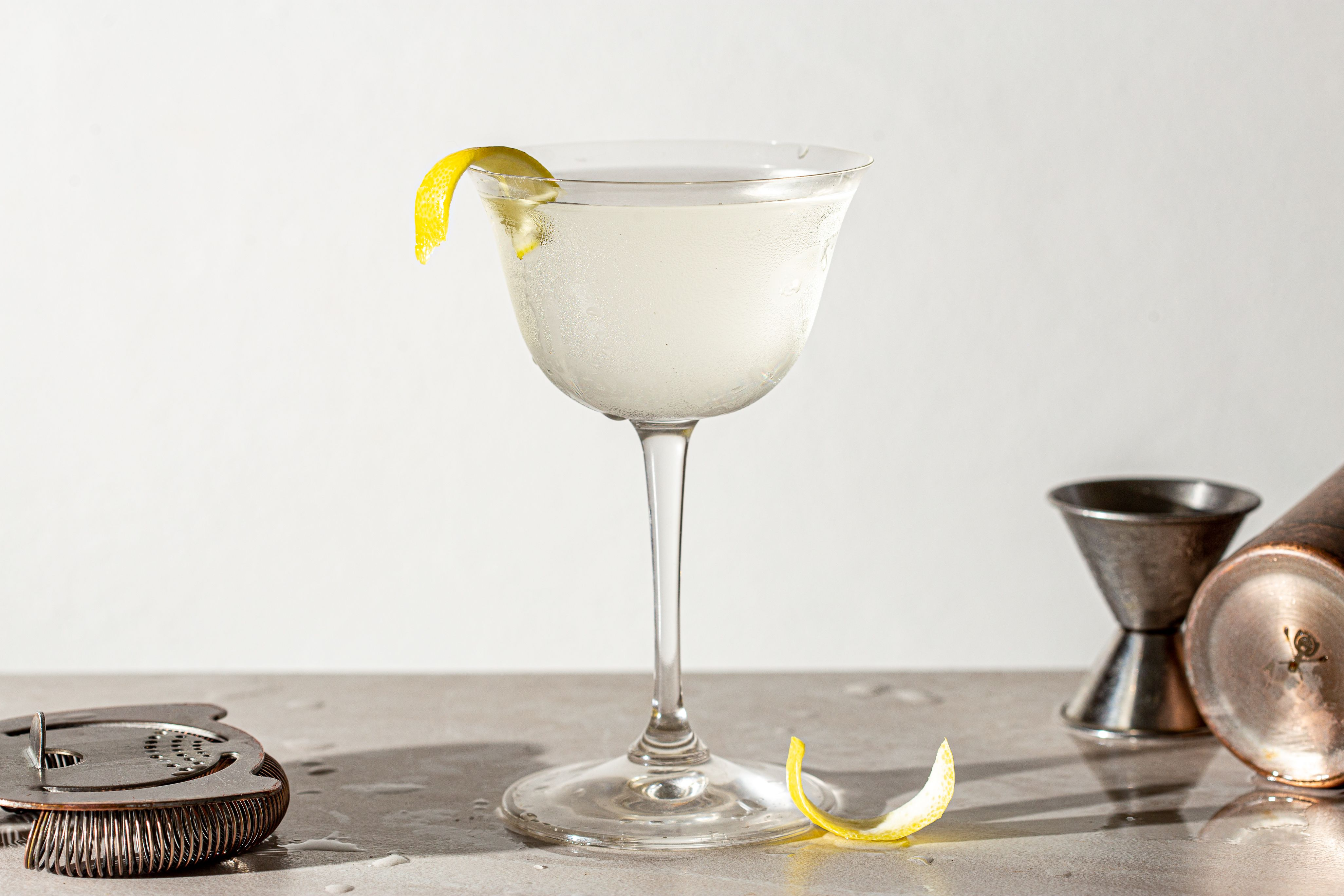Cocktail wodka martini bianco