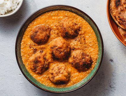 Indian Veggie Balls (Malai Kofta)