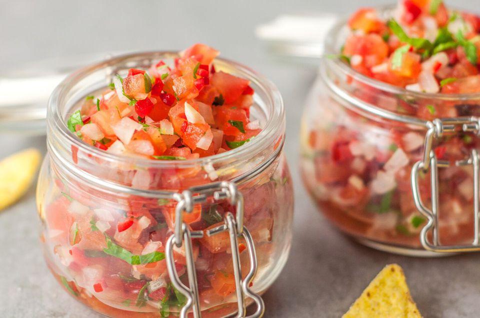 Classic Fresh Tomato Salsa