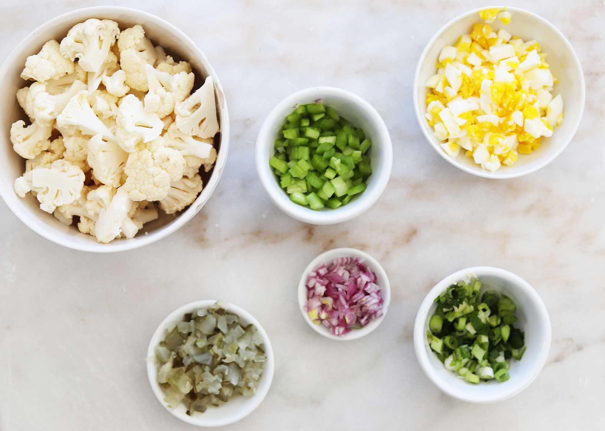 cauliflower salad ingredients