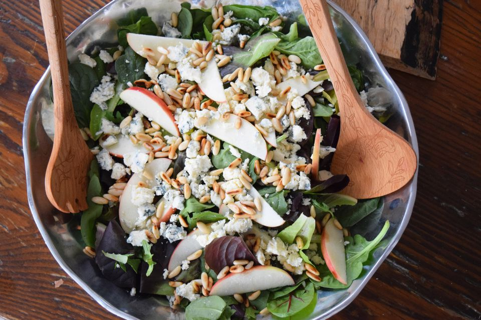 Apple, Blue Cheese, and Fig Salad