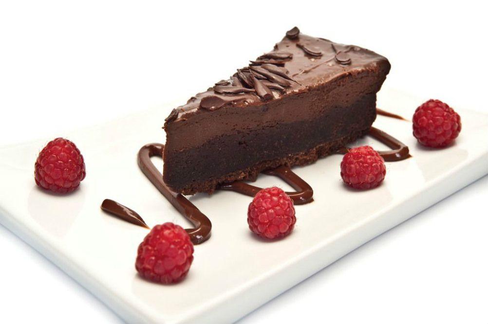 Dairy-Free Vegan Chocolate Cheesecake