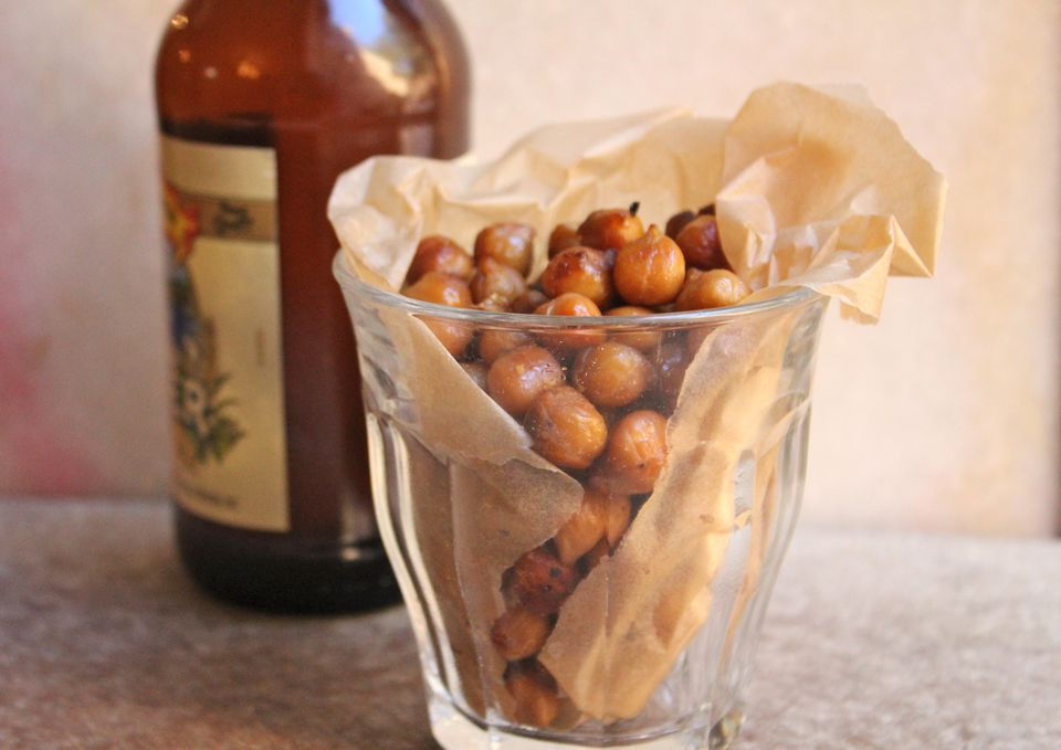 Snackable Roasted Chickpeas
