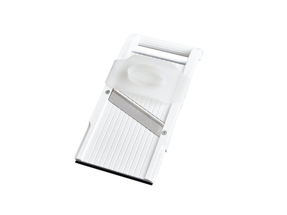 "Benriner Mandoline BPA Free Jumbo Slicer With Japanese Stainless Steel Blade, 13 x 6.5"", White"