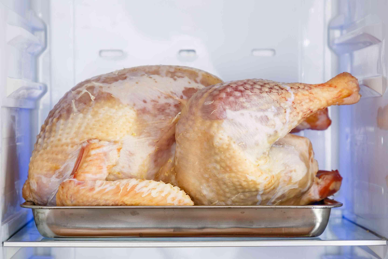 Uncover turkey