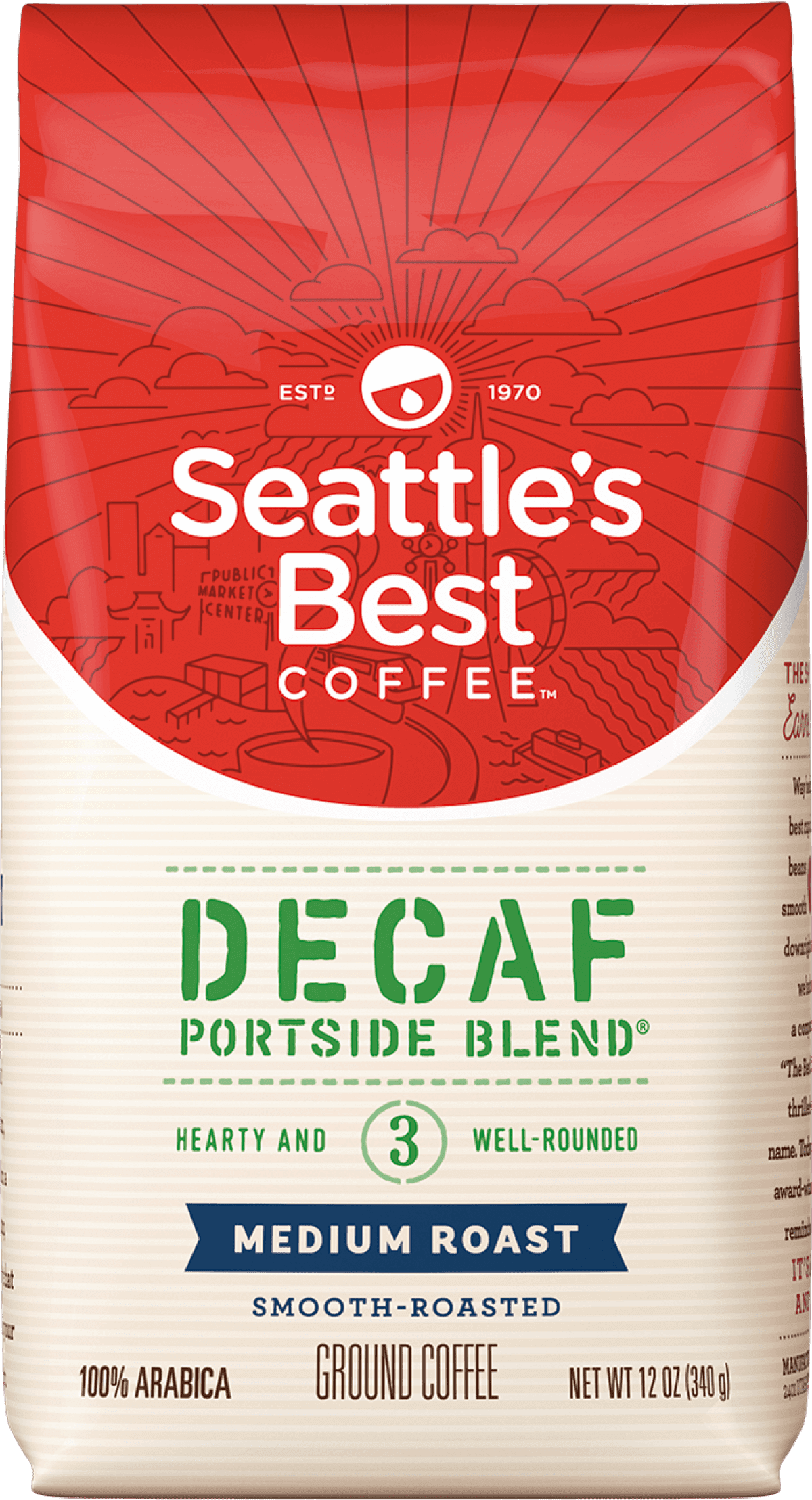 Seattle's Best Decaf Coffee