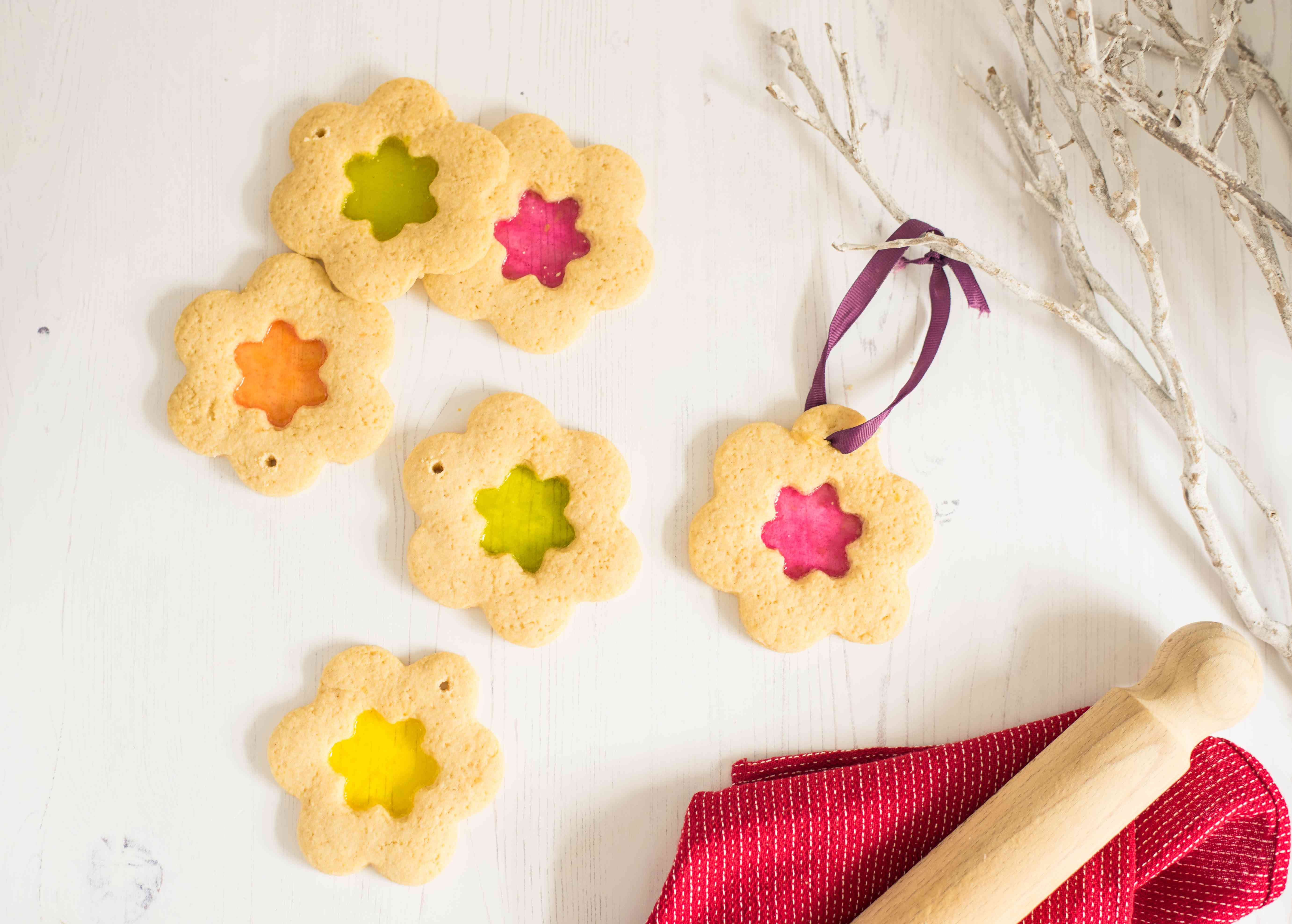Christmas stained glass cookies recipe