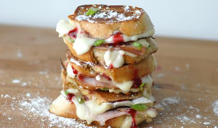 Monte Cristo and Brie Sliders