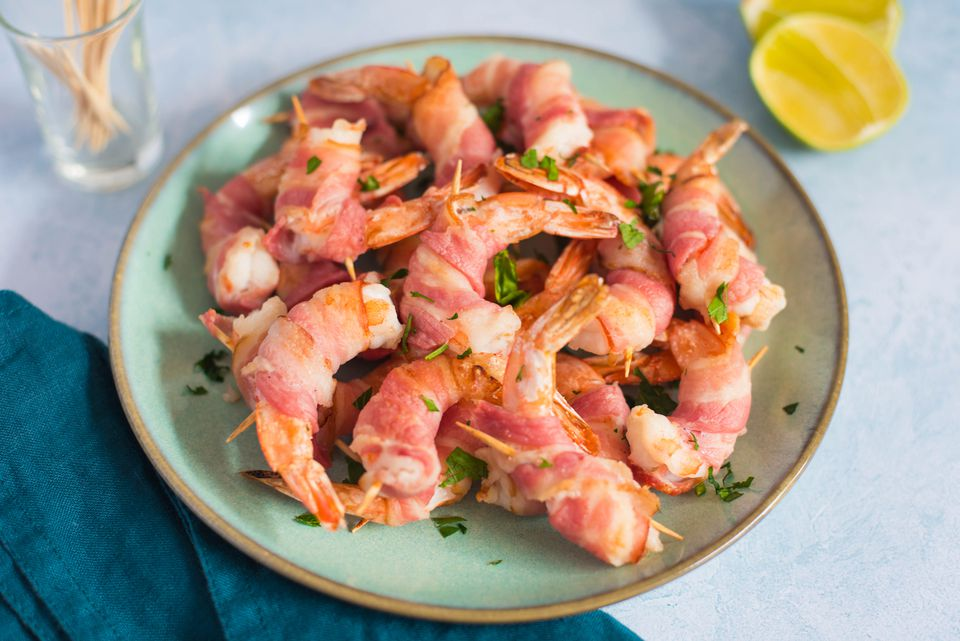 Simple bacon wrapped shrimp recipe