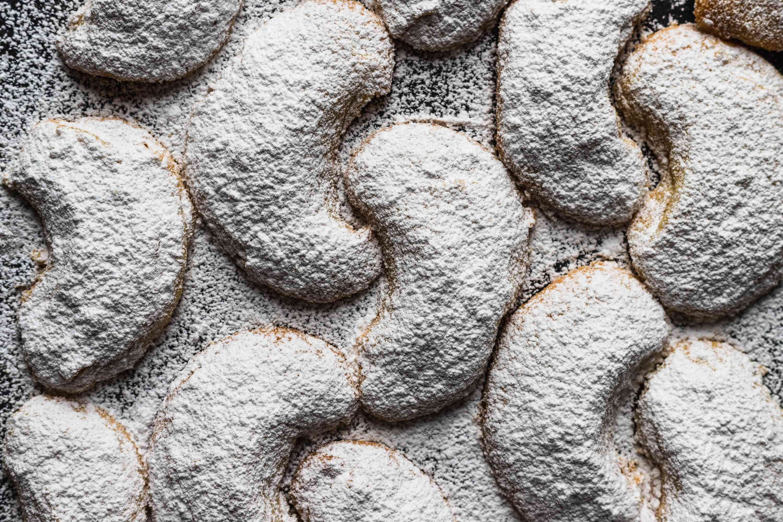 Polish Almond Crescent Cookies (Rogaliki)