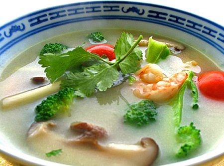 Thai Tom Yum Kung Recipe Soup Without Coconut Milk