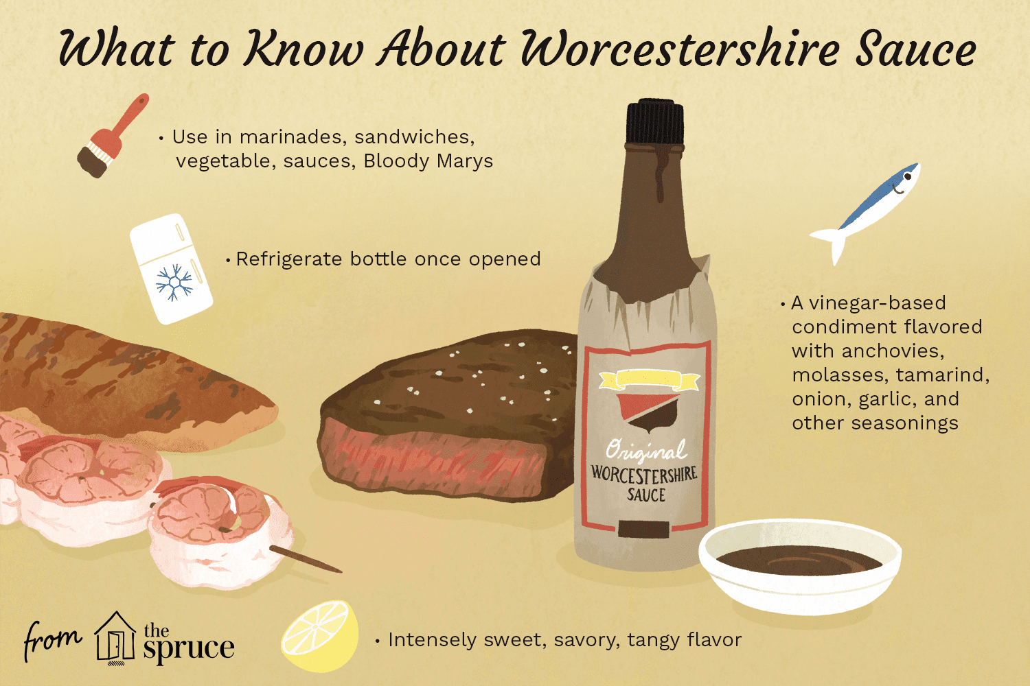 what is worcestershire sauce