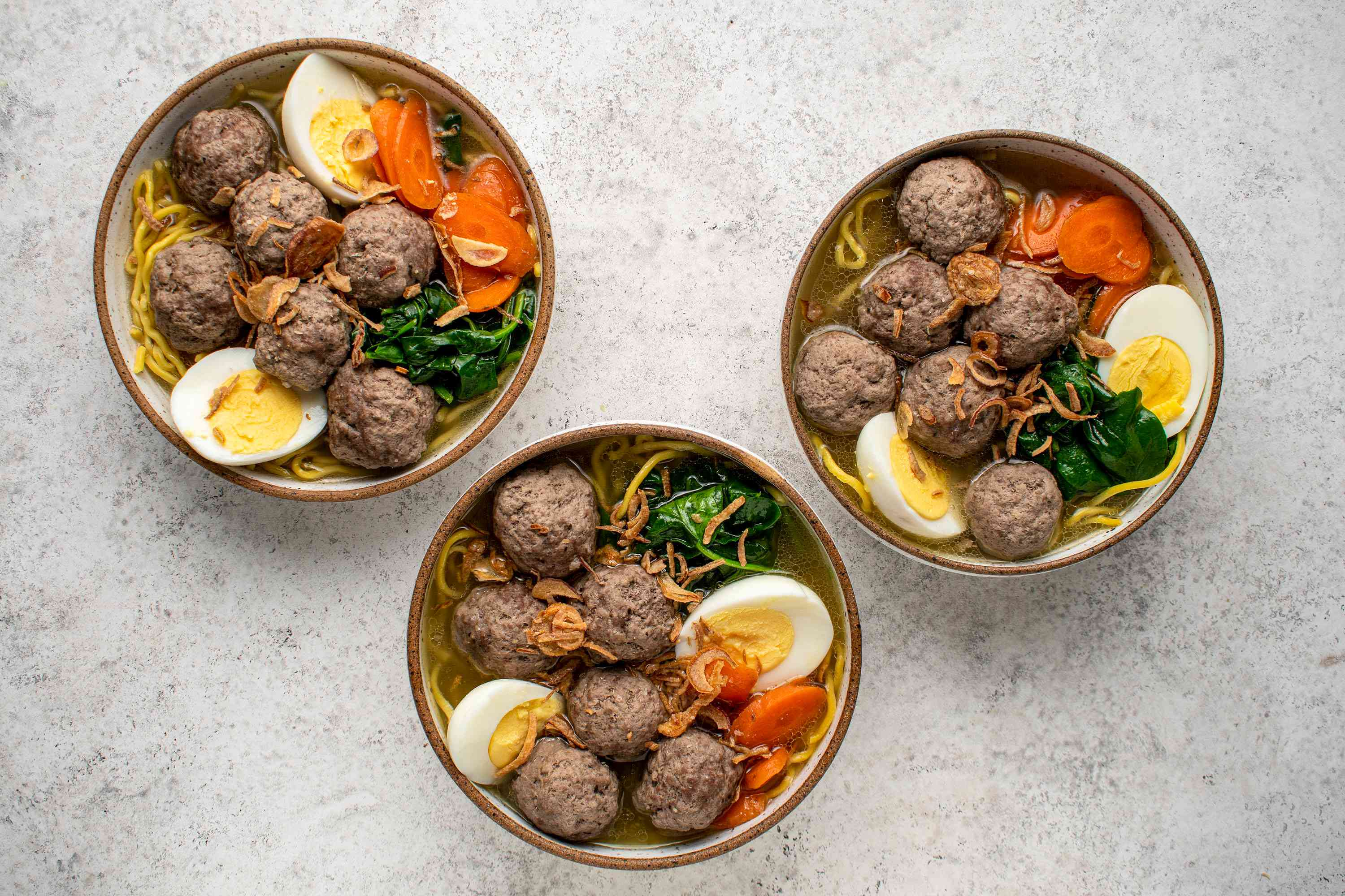 Mee Bakso (Indonesian Meatball and Noodle Soup)