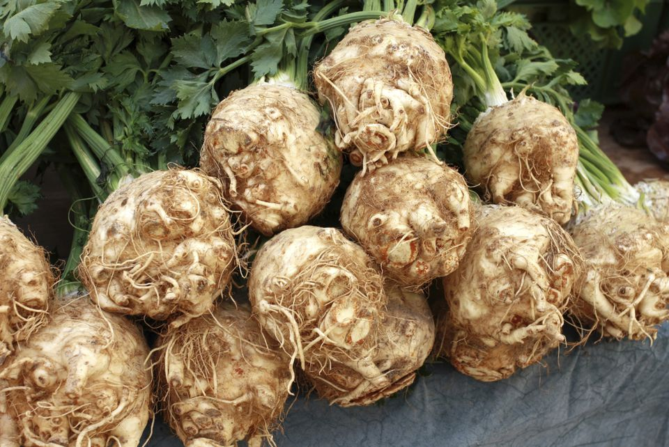 Celery Root at Market
