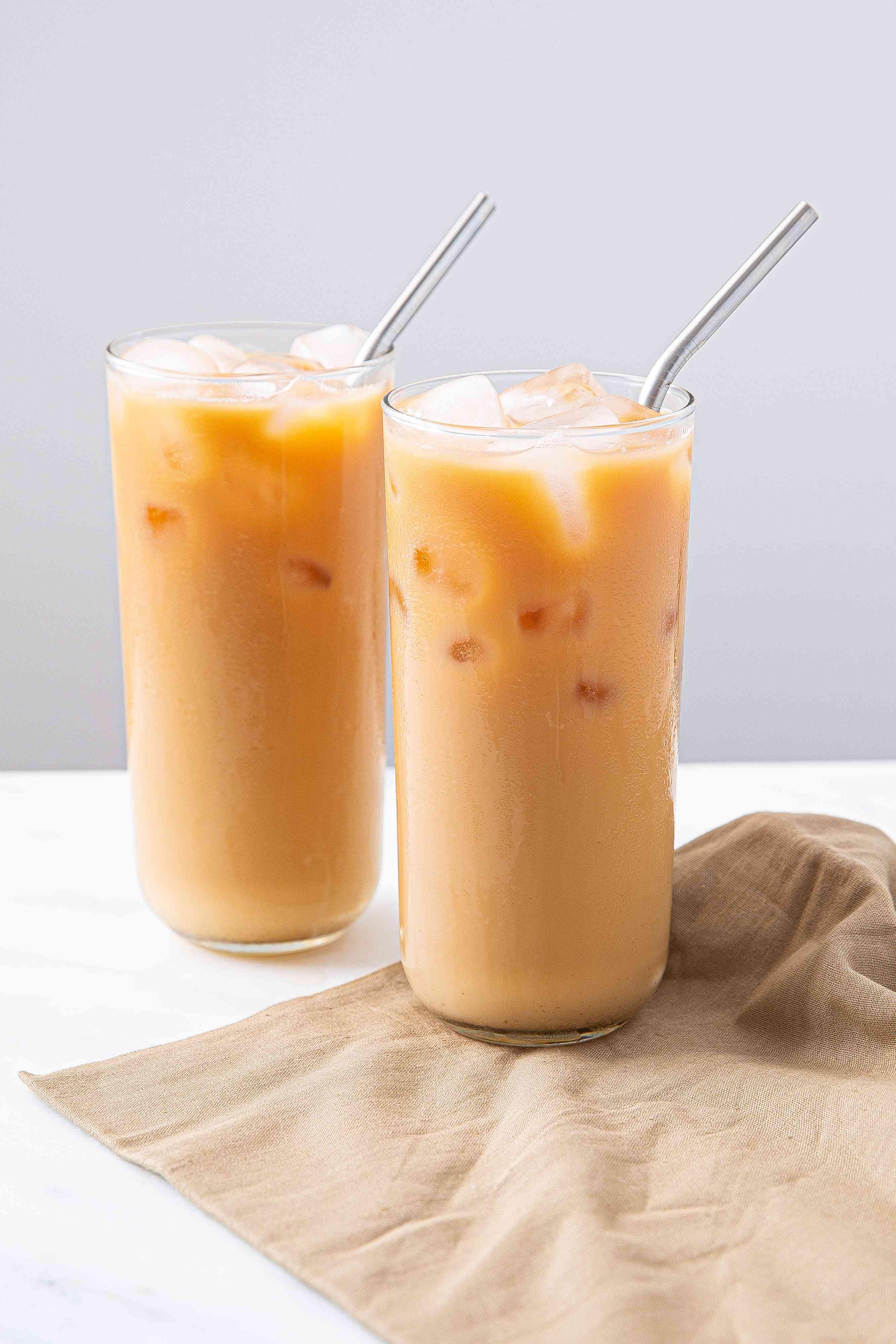 Top Thai iced tea