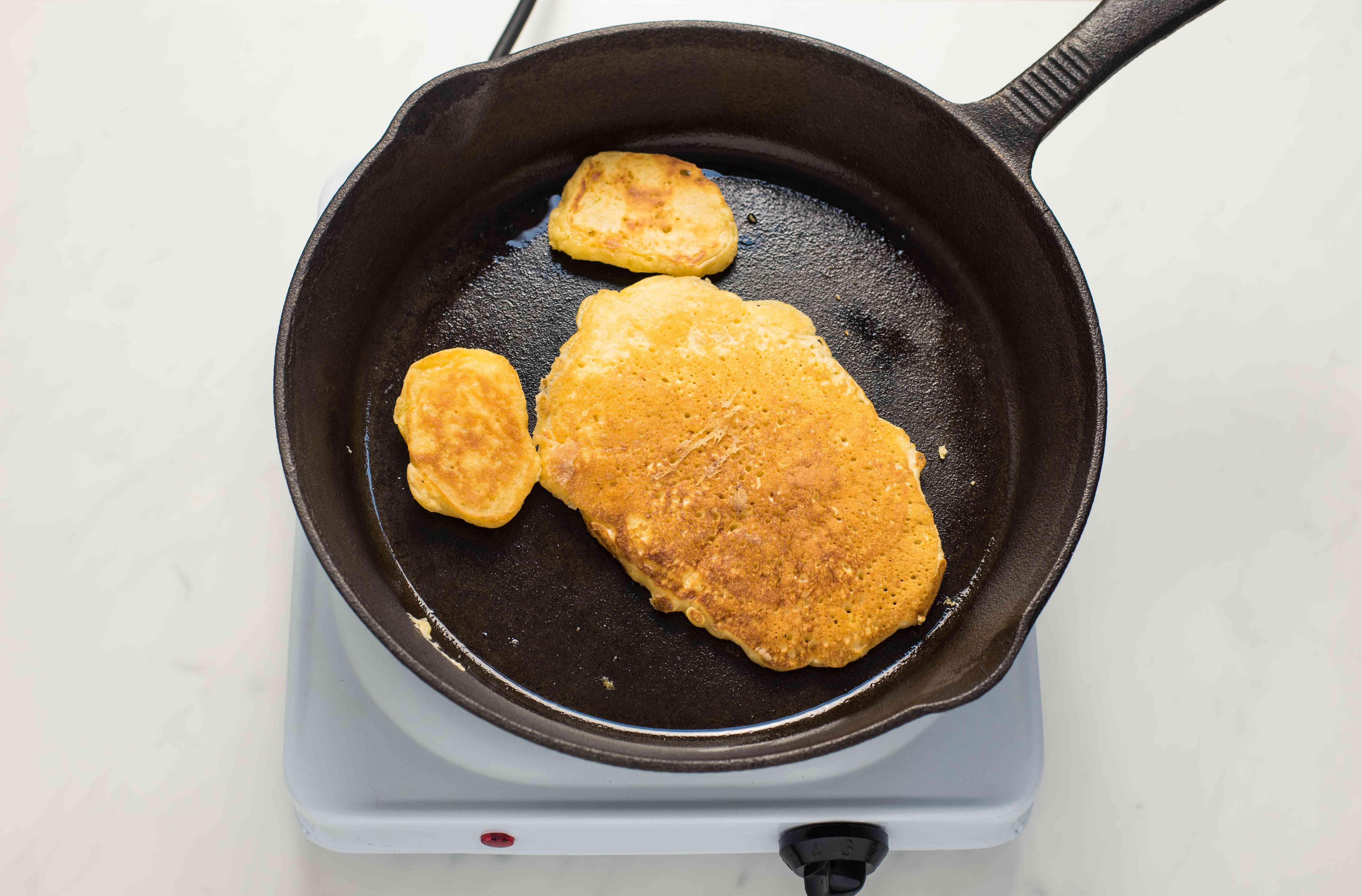 Cook pancakes