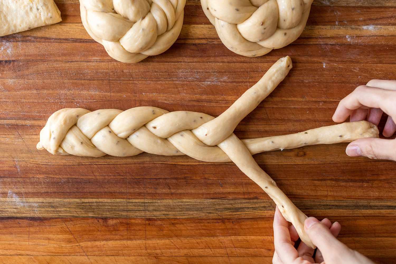 dough braided
