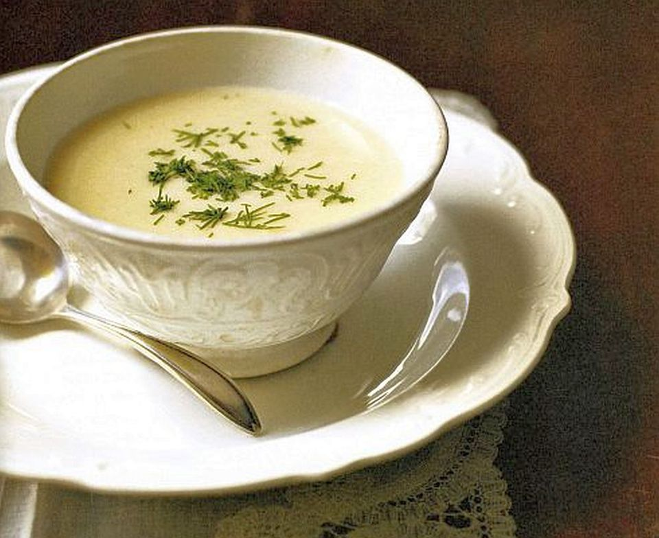 Cream of Horseradish Soup