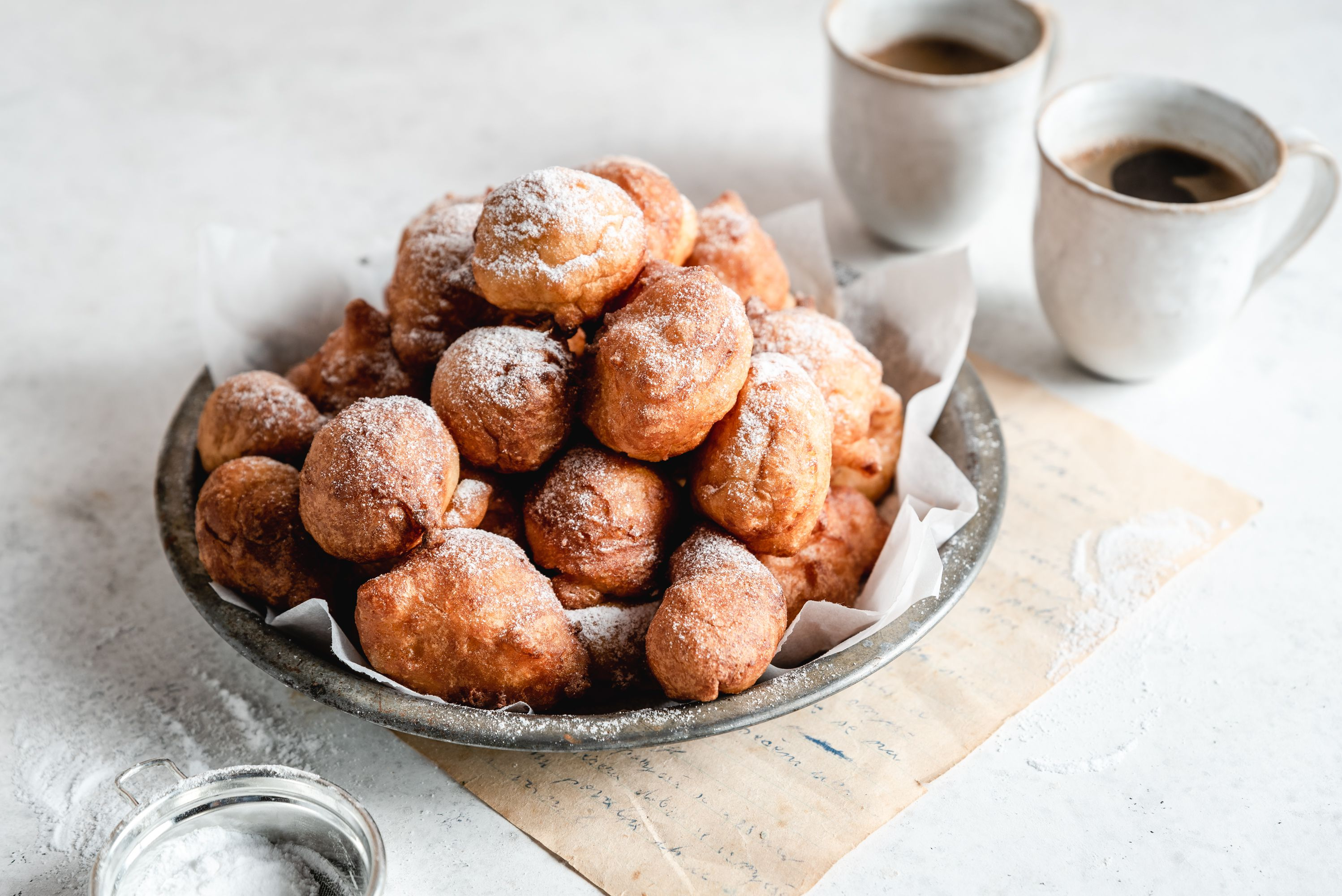 Old Fashioned Dutch Doughnuts Oliebollen Recipe