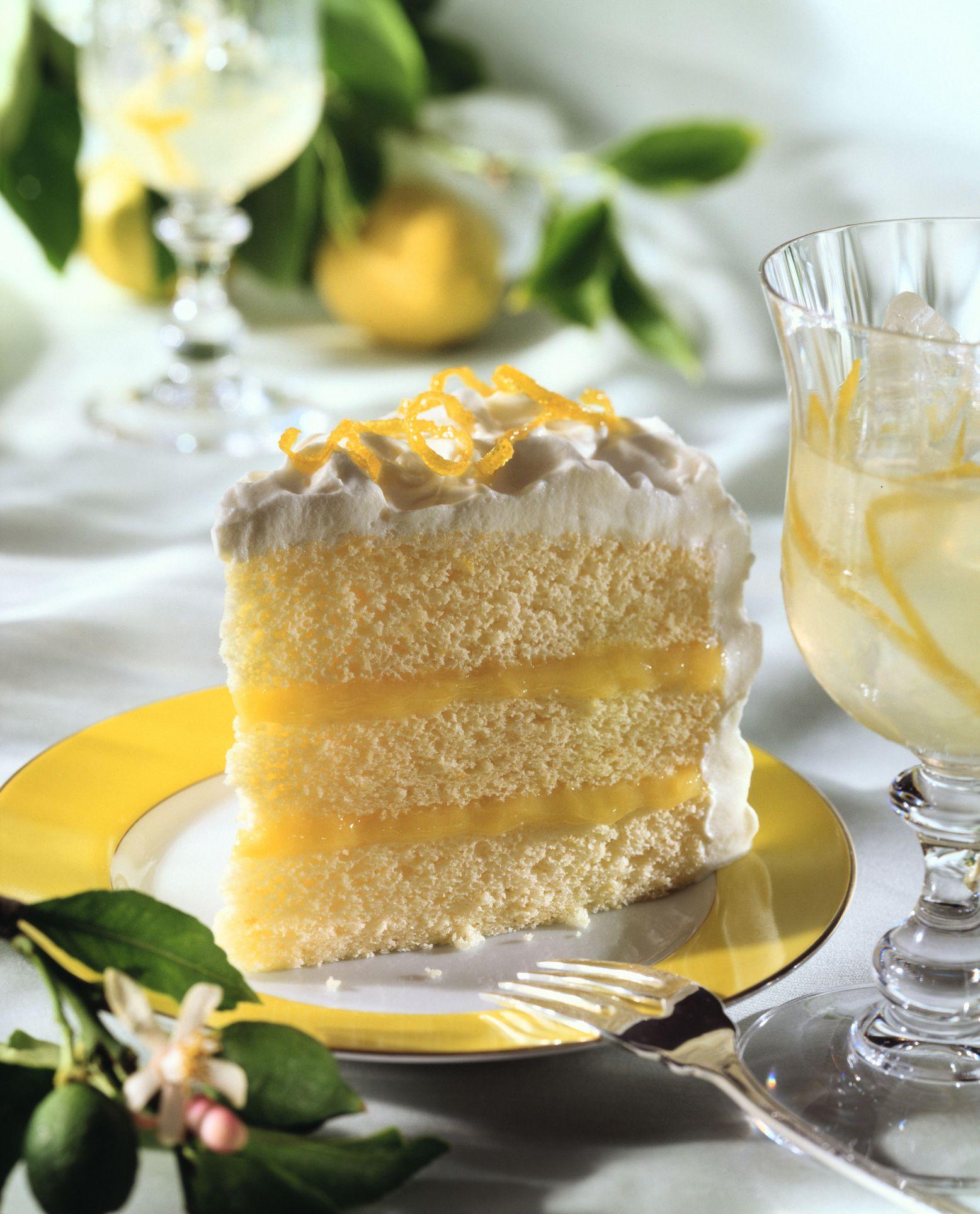 Irresistible Triple Layer Lemon Cake recipe