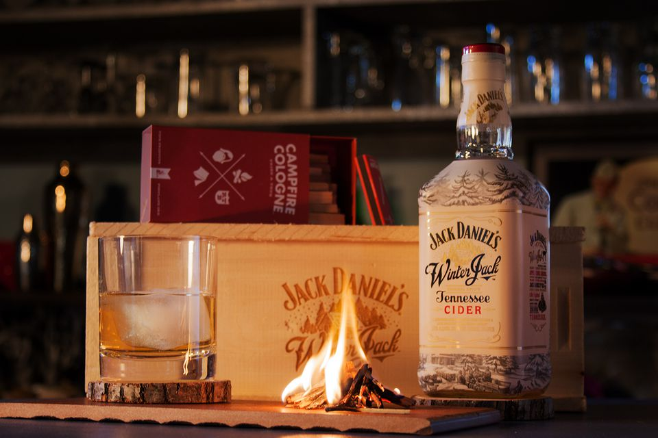 Jack Daniel's Winter Jack Tennessee Cider - Apple Cider Whiskey Liqueur