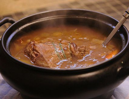 Slow Cooked Lamb Casserole