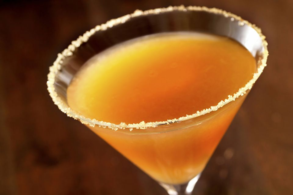 David Brenner's Epice Sidecar Cocktail Recipe with jalapeno syrup