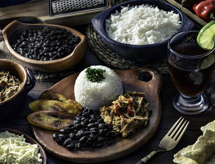 Venezuelan feast