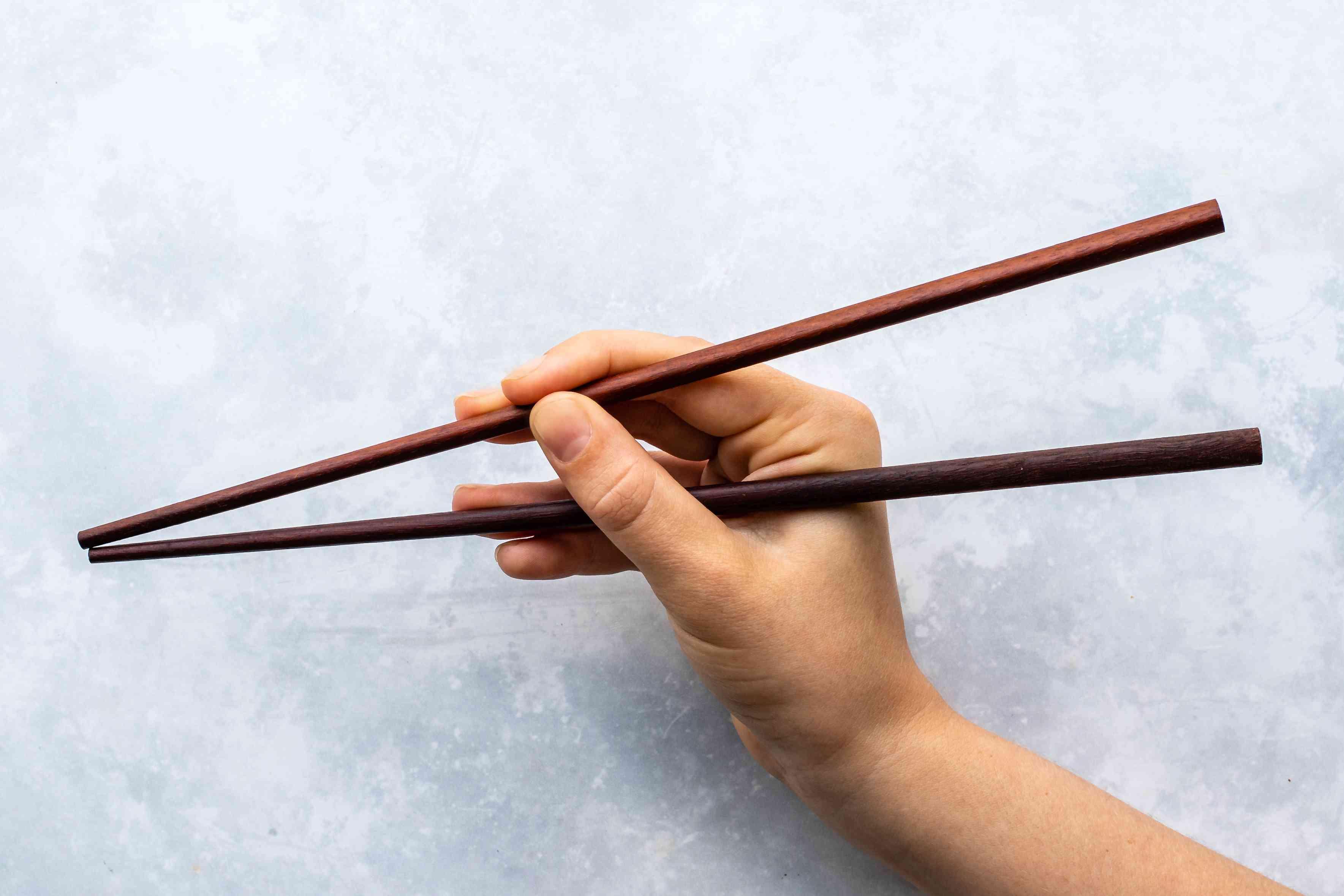 Pick up chopsticks