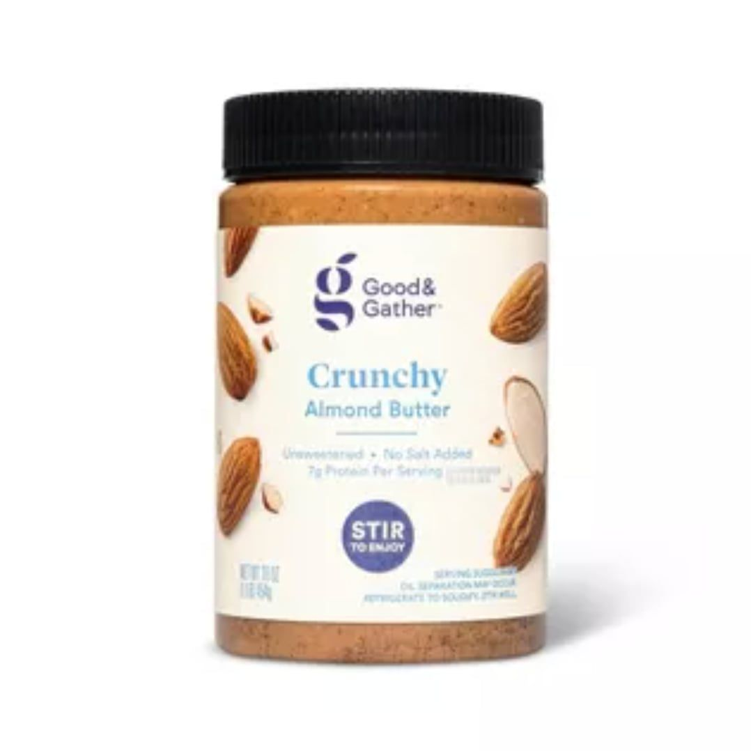 good-and-gather-crunchy-almond-butter
