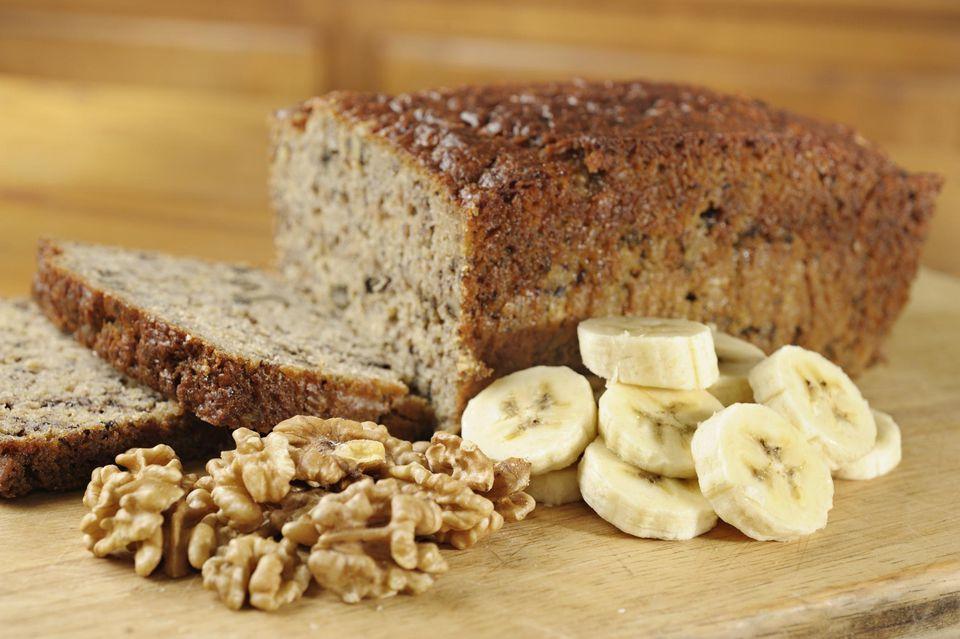 Pan de plátano sin lácteos