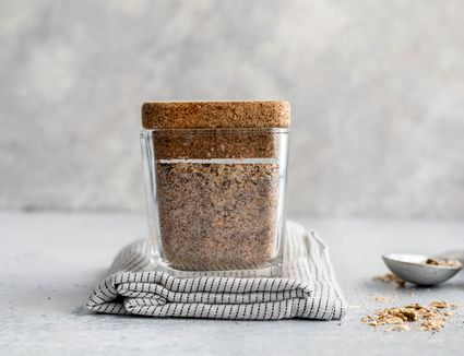 Sloppy Joe Seasoning in a glass container