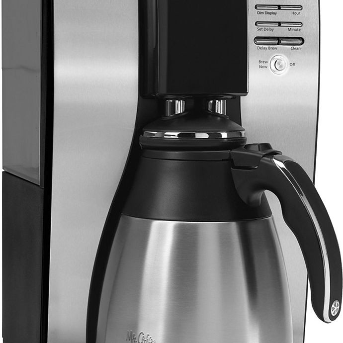 Mr Coffee 10 Cup Coffeemaker Stainless Steel Black