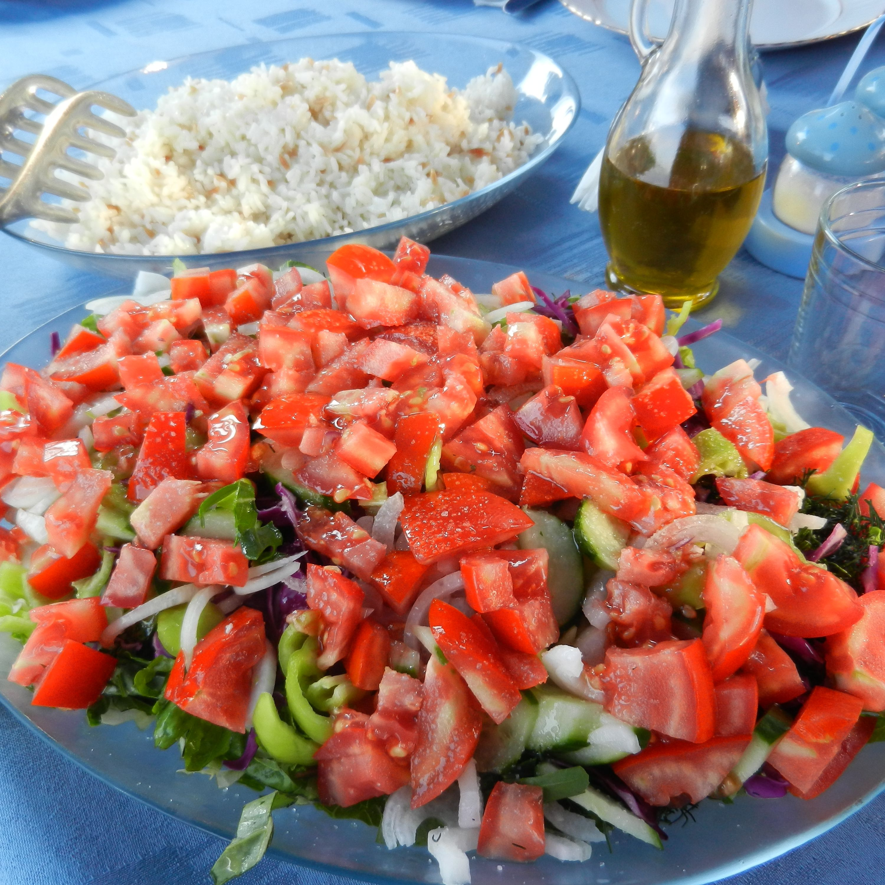 Turkish Shepherd's Salad (Çoban Salatası)