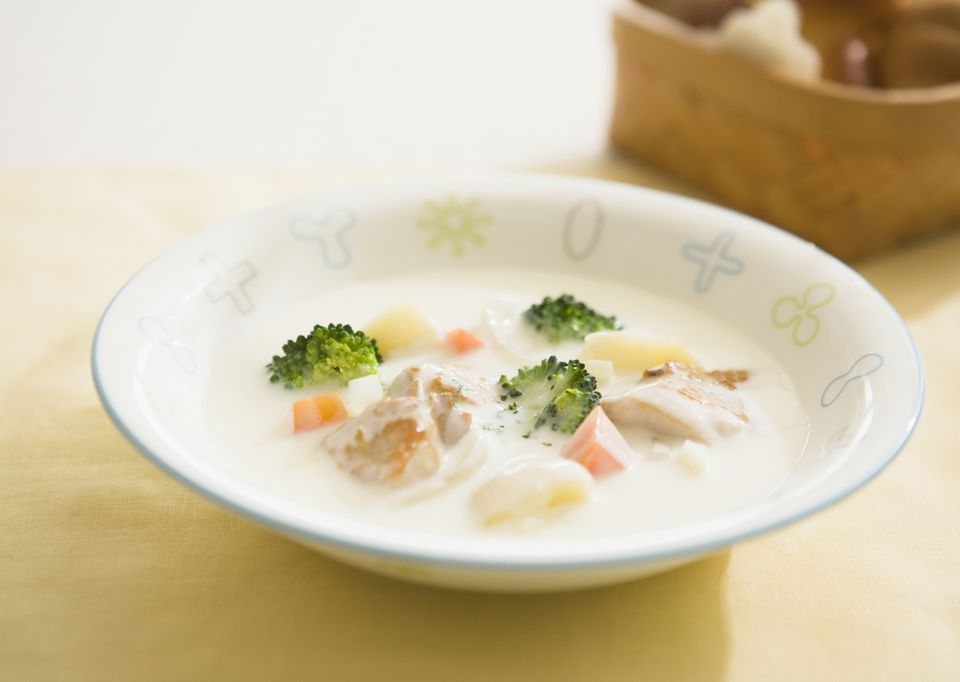 Japanese Cream Stew with Chicken