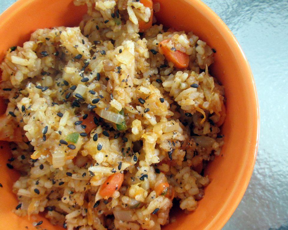Sesame Fried Rice