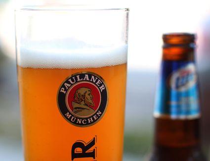 Hefeweizen Beer in a glass