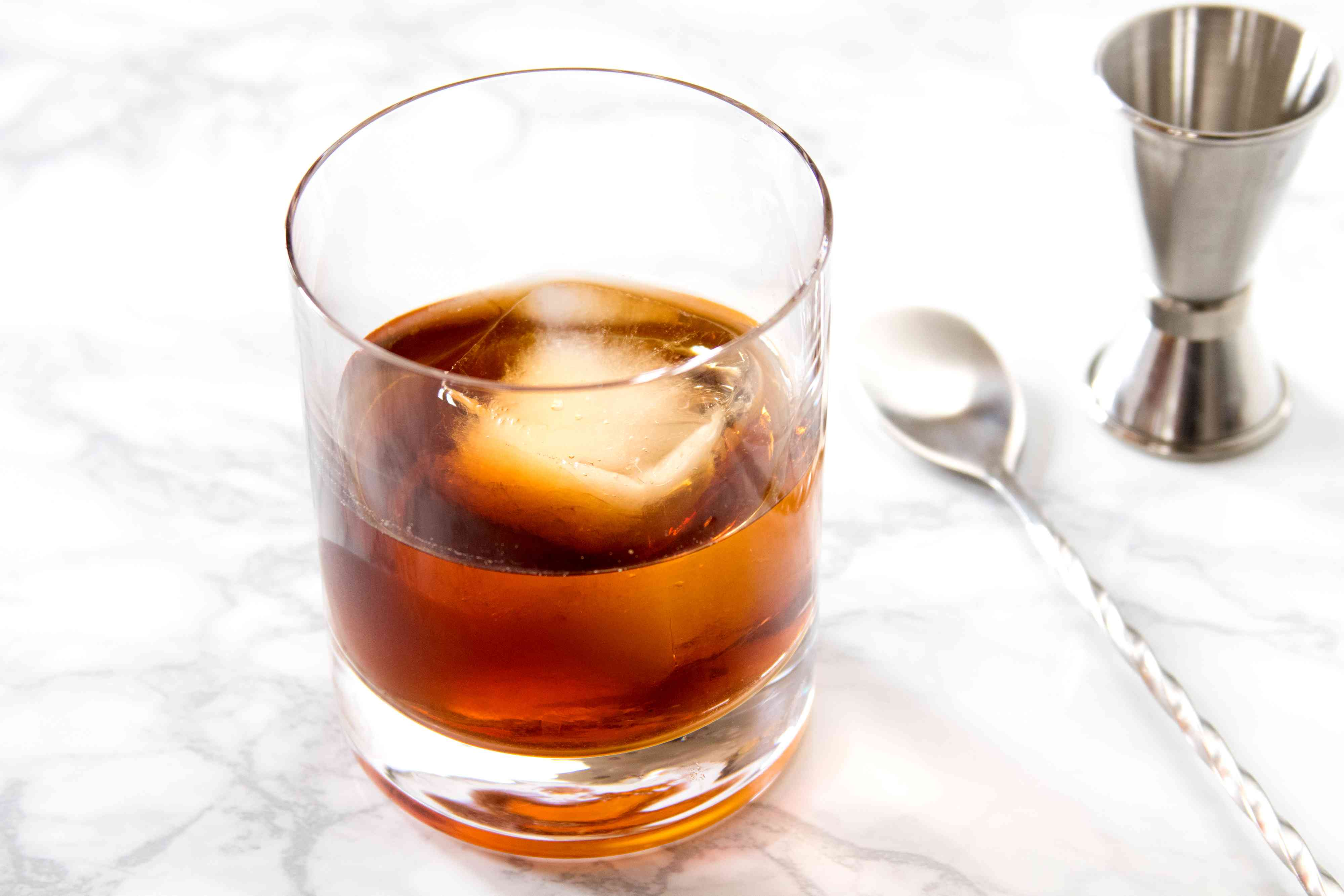 Separator Cocktail With Brandy and Coffee Liqueur