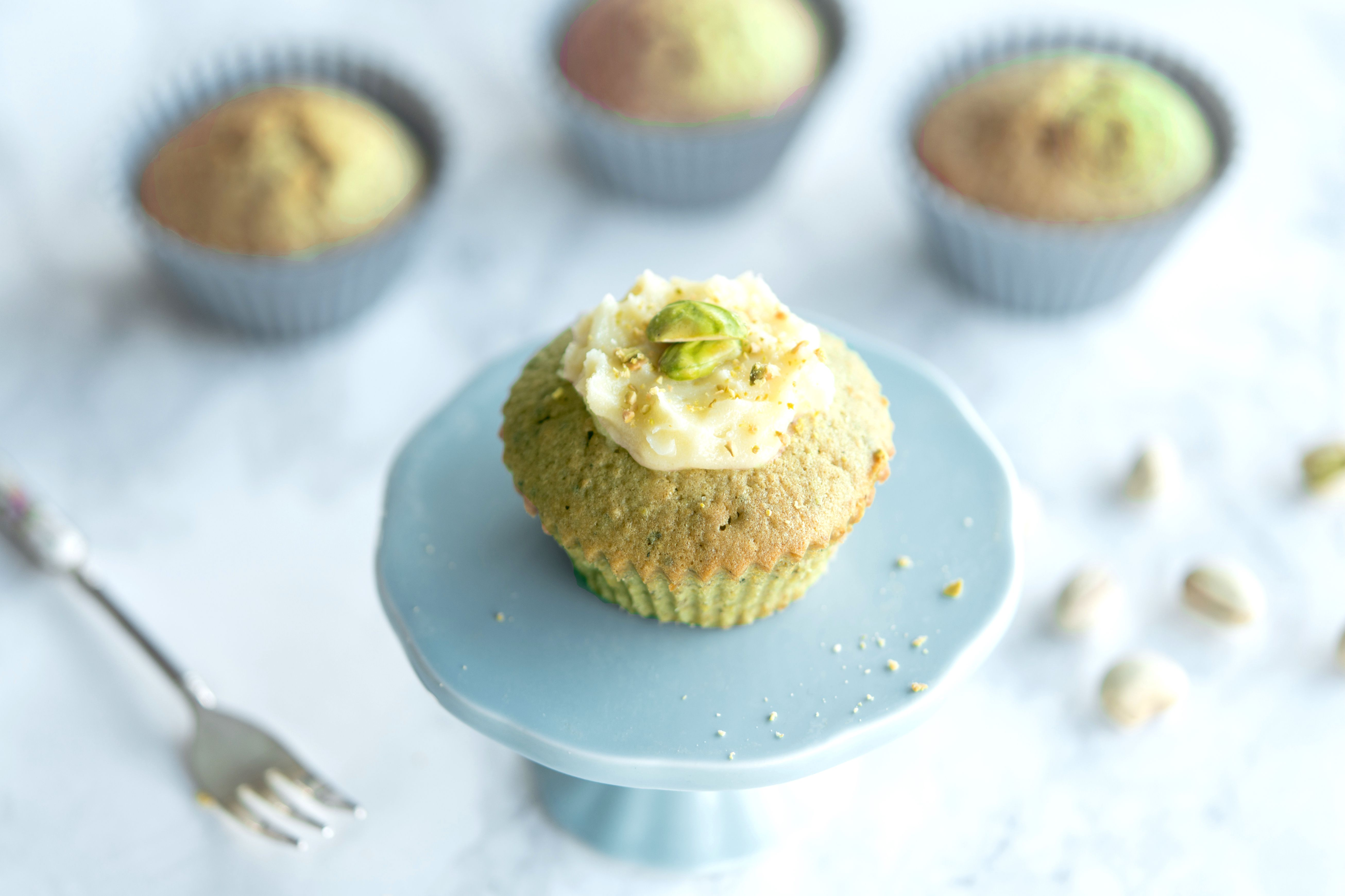 These Pistachios Muffins Are Packed With Nutty Flavor