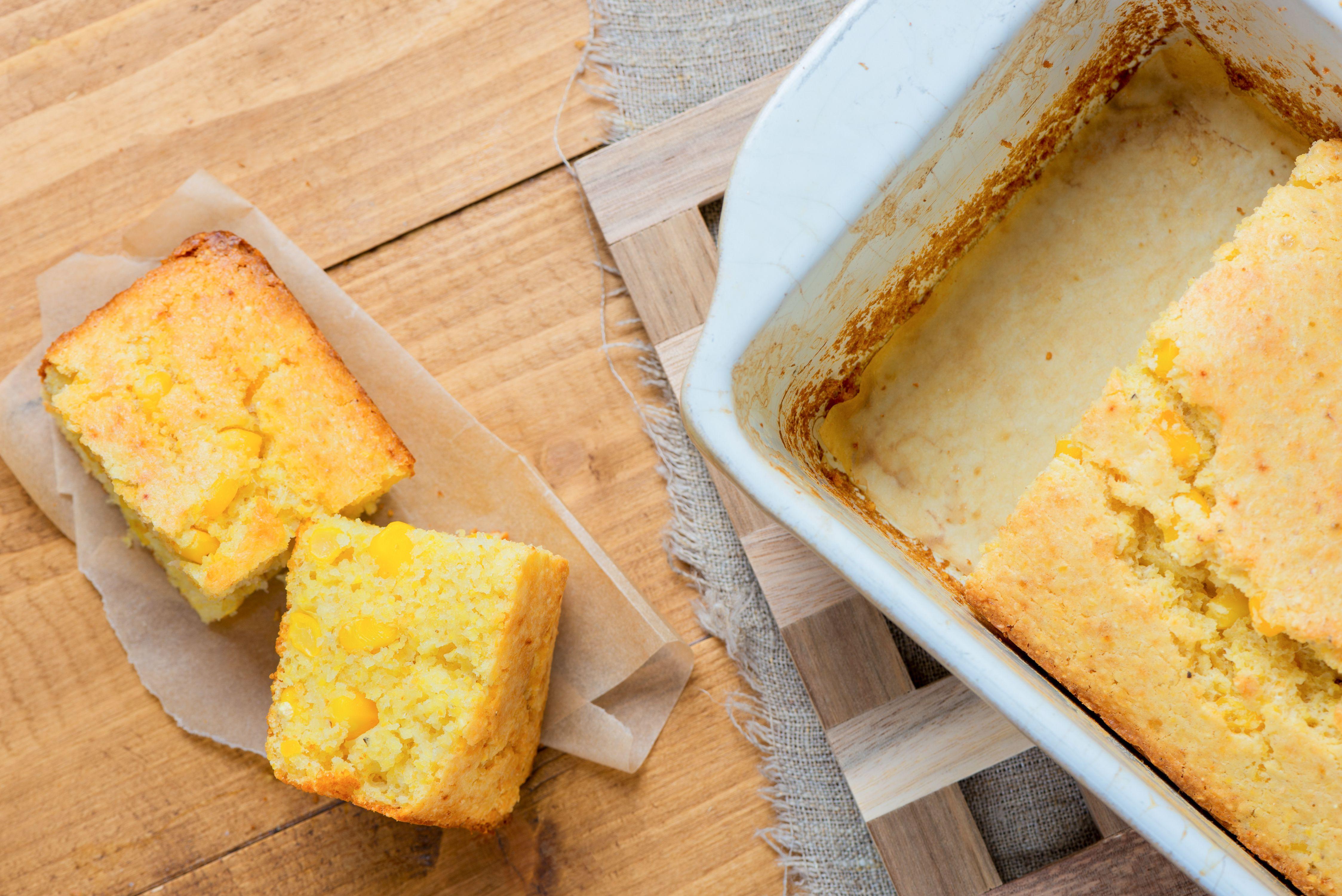 Corn Bread Recipe With Fresh Or Frozen Sweet Corn