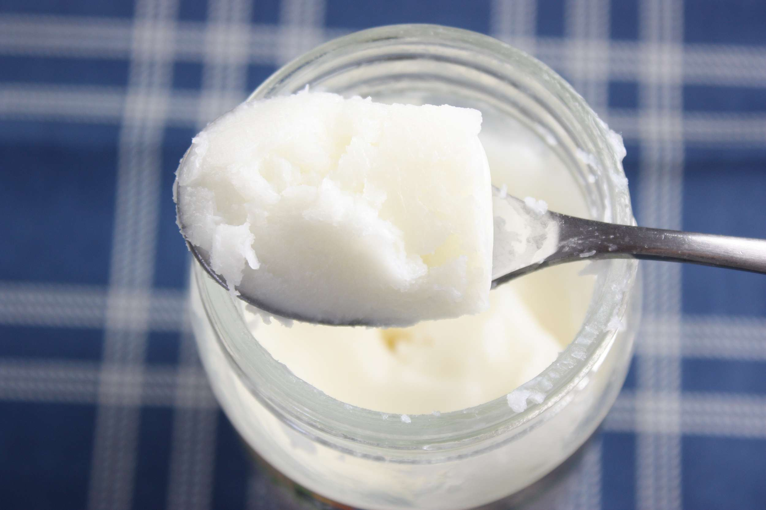 Coconut Oil on a spoon