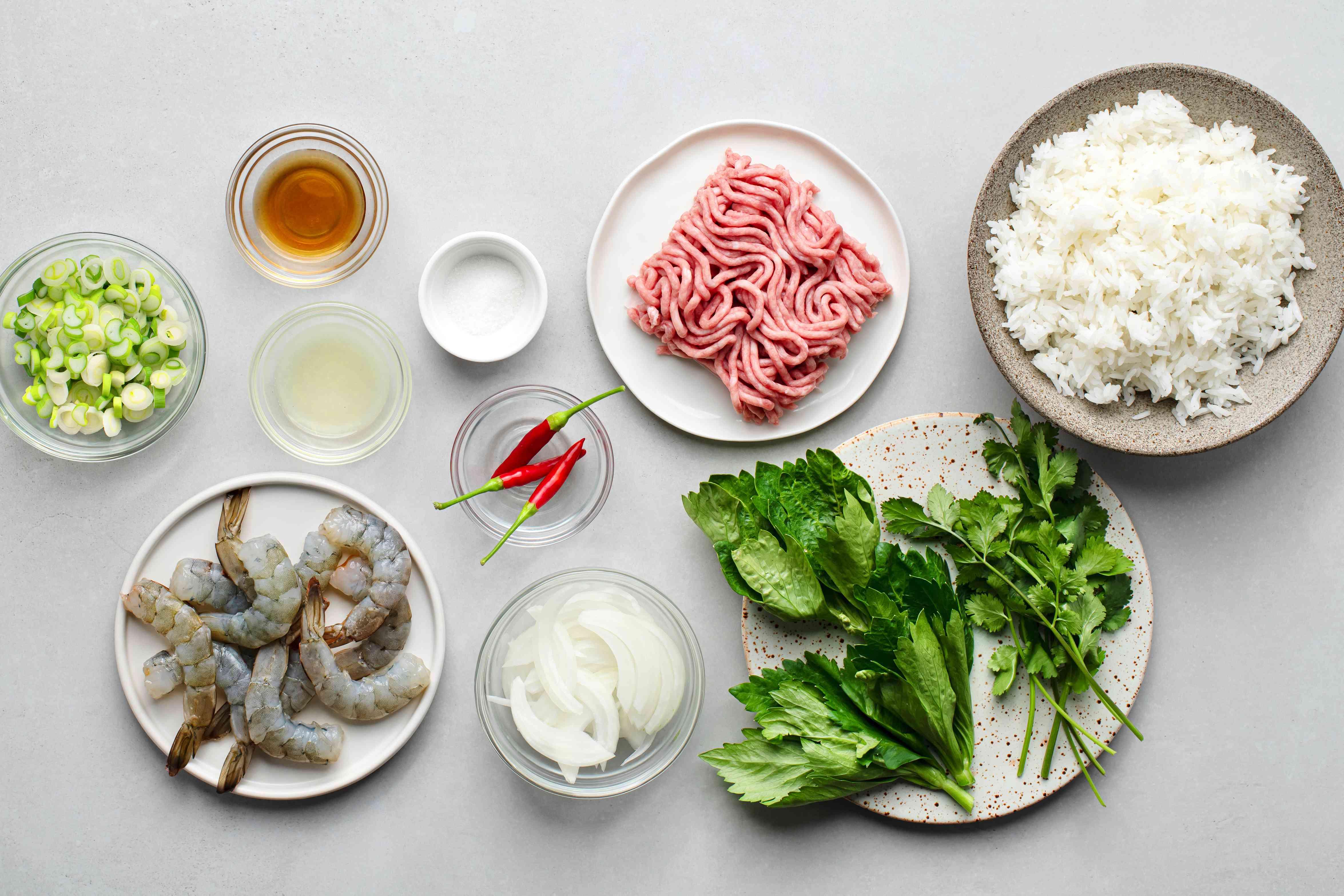 Thai Shrimp Salad (Shrimp Yum Goong) ingredients
