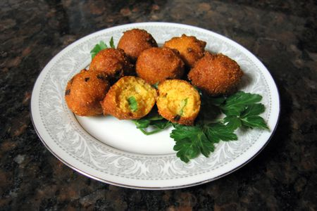 Deep Fried Southern Hush Puppies Recipe